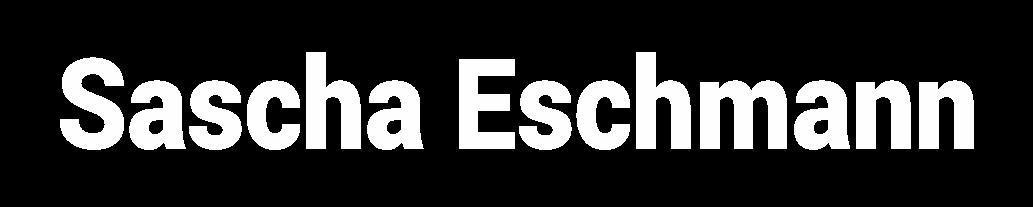 Sascha Eschmann - Zukunft neu denken